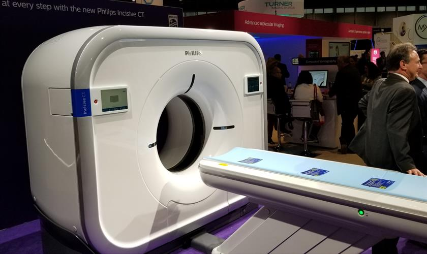 Incisive CT scanner